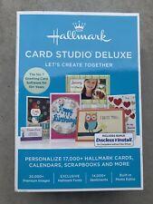 Hallmark Card Studio Deluxe 2016 Computer Software Version Windows 7, 8, 10