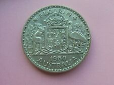 Australia, Florin 1960, Good Condition.