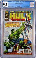 Incredible Hulk #449 CGC 9.6 1st App of Thunderbolts Marvel 1997 FREE SHIPPING!!