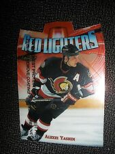 1998-99 Topps Finest Red Lighters Insert Alexei Yashin Ottawa Senators NrMt