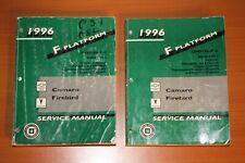 1996 Chevrolet Camaro Service Manual Gmp/96-F-1 Gmp/96-F-2 Pontiac Firebird