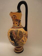 Venus Goddess of Love Aphrodite & God Hermes Ancient Greek Pottery Vase Hydria