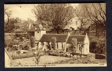 c1950s View: The Church, Model Village, Bourton-on-the-Water