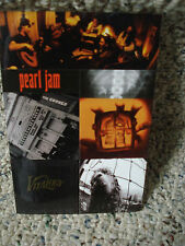 2 SHEETS OF PEARL JAM STICKERS!