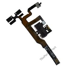 OEM iPhone 4S 4GS Headphone Audio Volume Jack Connector Ribbon Parts Flex Black