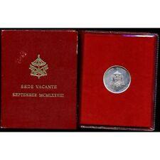 VATICANO Sede Vacante 500 Lire AG 1978 SETTEMBRE FDC