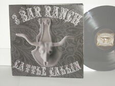 HANK WILLIAMS III 3 Bar Ranch Cattle Callin Grey Vinyl Double Mad Black Cow