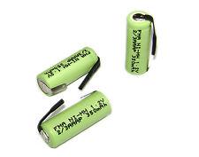 One Electric Shaver razor battery Ni-MH 2/3AAA 1.2V 350mAh 10*29mm w/Tabs U/R