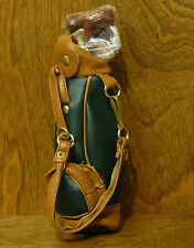 """Tender Heart Treasure 82082 HUNTER GREEN GOLF BAG w CLUBS, 5""""  From Retail Store"""