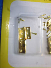 1/12 Scale Solid Brass Butt Hinges with 24 Nails 4pcs   HW1122