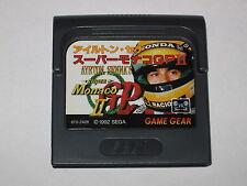 Super Monaco GP II Sega Game Gear Japan Import Cartridge only