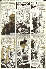 Captain America #232 p.15 - Cap in Police Rookie Disguise - 1979 Sal Buscema
