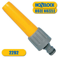 New Hozelock 2292 Hose Watering Spray Nozzle Gardening Adjustable Male Connector