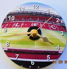 More details for novelty liverpool anfield stadium on a 12cm cd clock face sweep non ticking
