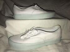 Vans UltraCush Pro Mens 7 Womens 8.5 Sneakers Skate Skateboard Shoes White