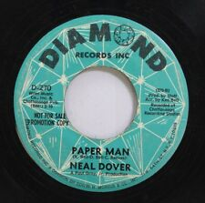 Hear! Northern Soul Promo 45 Neal Dover - Paper Man / Mr. Bus Driver On Diamond