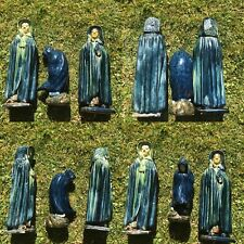 FLEMISH POTTERY FIGURES OF HOODED PEOPLE C1900 Or EARLIER