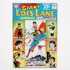 Superman's Girlfriend Lois Lane Gaint #2 6.5 FN + DC Comics Juni 1963 Silber Alter