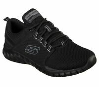 Skechers Men Black shoes Memory Foam Casual Comfort Walk Train Sporty Mesh 52821