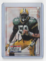 1993 PACKERS Johnny Holland signed card Pro Set Power #50 AUTO Autographed