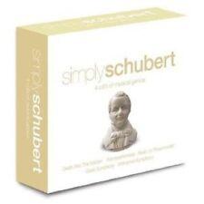 SIMPLY SCHUBERT 4 CD NEW+
