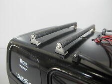 Pair 13cm Roof Bike Rack Cross Bar Tamiya 1/10 F350 Hilux Bruiser Clodbuster Man