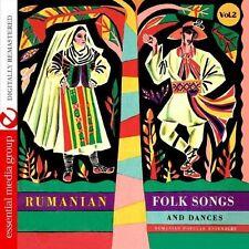 Various Artists - Rumanian Folk Songs & Dances 2 / Various [New CD] Manufactured