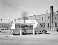 "1941 King Cole Ice Cream Truck Syracuse NY Vintage Photograph 8.5"" x 11"" Reprint"