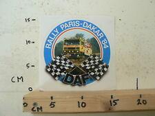 STICKER,DECAL DAF TRUCKS PARIS-DAKAR 1984 LARGE JAN DE ROOY AVIS TRUCKSTAR