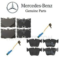 For Mercedes X253 GLC43 W205 C450 AMG Front & Rear Disc Brake Pad Sets & Sensors