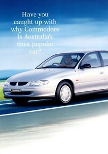 Holden Commodore VT  Brochure