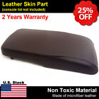 Armrest Center Console Lid Cover Synthetic Leather Fit Toyota Avalon 13-18 Brown