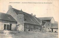 ISSY-L'EVÊQUE - ancienne Maison Seigneuriale des Montchanins