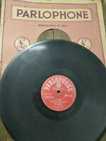 """THE BEATLES Orig INDIA RARE 78 RPM If I Fell/And I love Her PARLOPHONE 10"""" G+"""