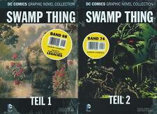 DC Comic Graphic Novel collection 68 +74 - swamp thing partie 1+2 (z0), eaglemoss