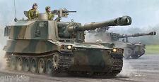 CANON AUTOMOTEUR TYPE 75  155 mm, JGSDF 2000 - KIT TRUMPETER 1/35 n° 05577