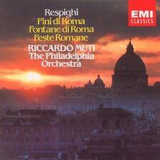 Various Artists : Respighi: Pini diRoma / Fontane di Roma / Feste Romane CD