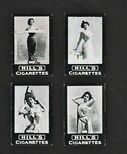 Hill - Actresses - Continental - plain back (1906) - choose your Cigarette Card