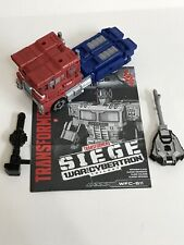 Transformers war for cybertron siege optimus Prime