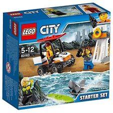 Ref.60163 L'ENSEMBLE DE DÉMARRAGE GARDES-COTES - lego city