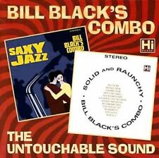 BILL COMBO BLACK - Saxy Jazz/solid And Raunch CD NEW