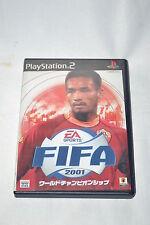 Fifa 2001 Sony PlayStation 2 NTSC-J Japan ver SLPS 20054