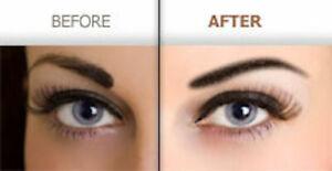 Brow Stamp Shaping Kit 6PCS Eyebrow Card Definer Stencils Shaper Makeup Set UK