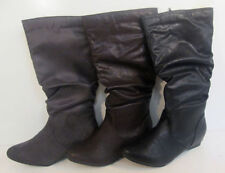 "Women's Textile Flat (less than 0.5"") Mid-Calf Boots"