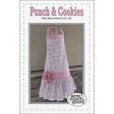 "SEW MUCH GOOD ""PUNCH & COOKIES APRON"" Sewing Pattern"
