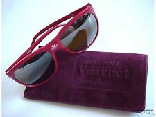 Vintage VUARNET CATeyeLogo Sunglasses 2084 084 RED 002-ish Px-2000 Brown Lens