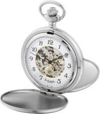 Taschenuhren aus Silber mit Sprungdeckel mechanische (Handaufzug)