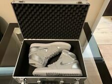 Air Jordan 1 Retro Hi Silver '25th Anniversary' Comes With Flight Case UK10