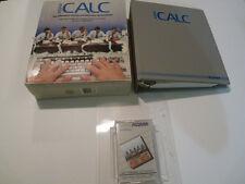 ADAM CALC ADAM COLECO Computer Software Coleco USED COMPLETE In Box