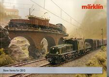 """Marklin 2013 """"New Items"""" Catalogue"""